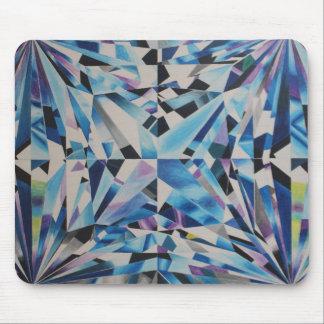 Tapis De Souris Diamant en verre Mousepad