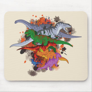 Tapis De Souris Dinosaures