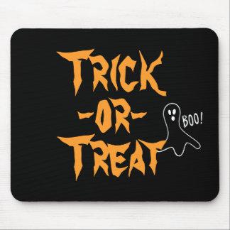 Tapis De Souris Dire de fantôme de Halloween de des bonbons ou un