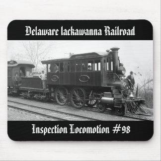 Tapis De Souris DL+ Locomotive d'inspection de vapeur de W