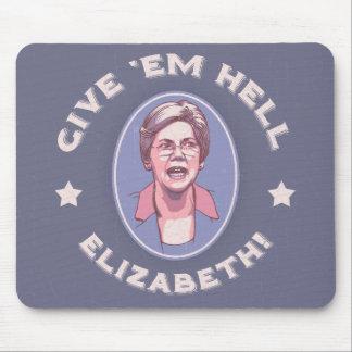Tapis De Souris Donnez-leur l'enfer, Elizabeth