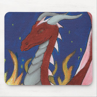 Tapis De Souris Dragon rouge