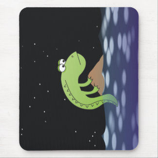 Tapis De Souris Dragon triste à l'illustration Mousepad de nuit