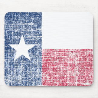 Tapis De Souris Drapeau affligé du Texas