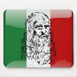 Tapis De Souris Drapeau brillant de l'Italie