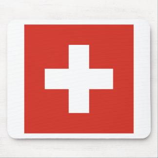 Tapis De Souris Drapeau de la Suisse - meurent le der Schwe de