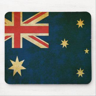 Tapis De Souris Drapeau grunge vintage de l'Australie