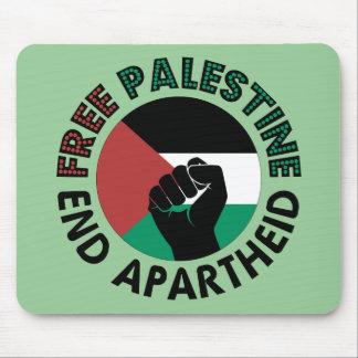 Tapis De Souris Drapeau libre de la Palestine d'apartheid de fin