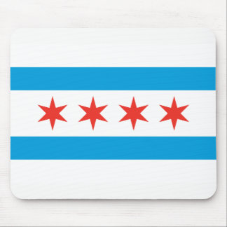 Tapis De Souris Drapeau Mousepad de Chicago