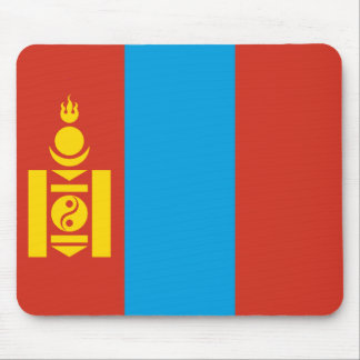 Tapis De Souris Drapeau Mousepad de la Mongolie