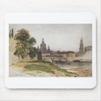 Tapis De Souris Dresde. Pont d'août par Ivan Shishkin
