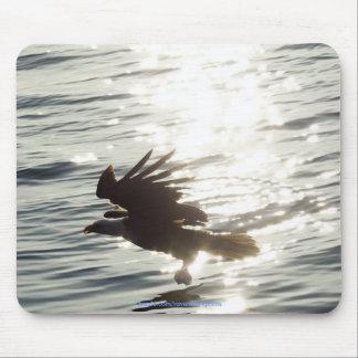Tapis De Souris Eagle chauve américain Mousepad inspiré