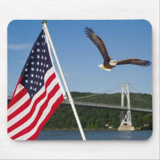 Tapis De Souris Eagle chauve (fierté américaine)