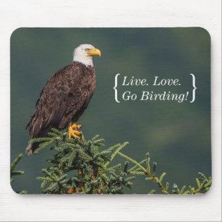 Tapis De Souris Eagle chauve majestueux