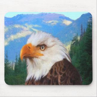Tapis De Souris Eagle chauve Mousepad