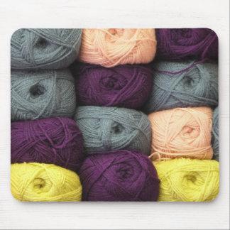 Tapis De Souris Écheveaux colorés de fil