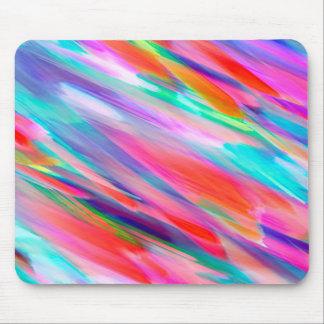 Tapis De Souris Éclaboussement coloré d'art numérique de Mousepad