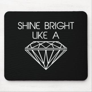 Tapis De Souris Éclat lumineux comme un diamant