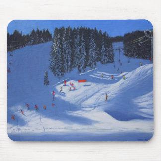 Tapis De Souris École Morzine 2014 de ski