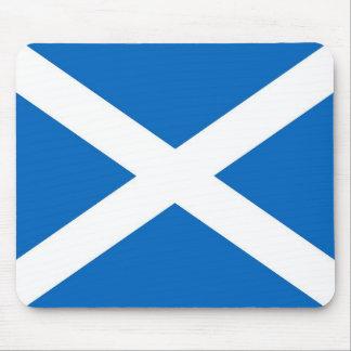Tapis de souris écossais de drapeau