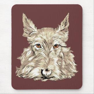 Tapis De Souris Écossais Terrier dans blond comme les blés