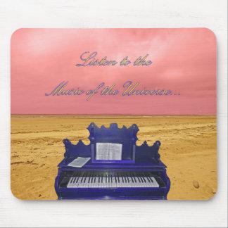 Tapis De Souris Écoutez la musique du collage d'univers