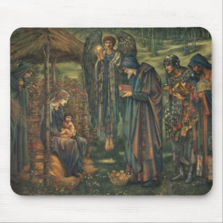 Tapis De Souris Edward Burne-Jones - l'étoile de Bethlehem