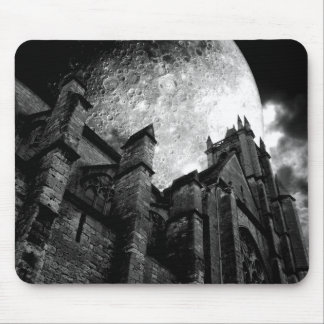 Tapis De Souris Église de la pleine lune