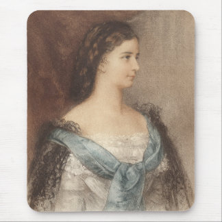Tapis De Souris Elisabeth de la Bavière - impératrice Sisi -