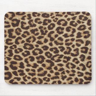 Tapis De Souris Empreinte de léopard classique Mousepad