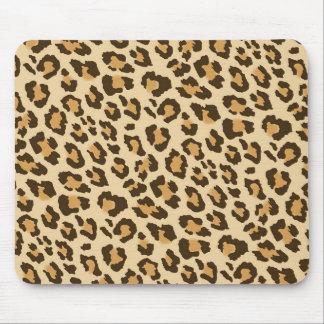 Tapis De Souris Empreinte de léopard Mousepad
