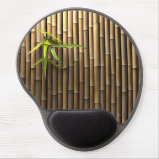 Tapis de souris en bambou de gel de mur