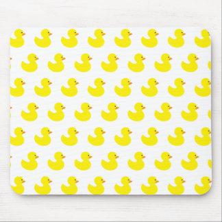 Tapis de souris en caoutchouc de motif de canard