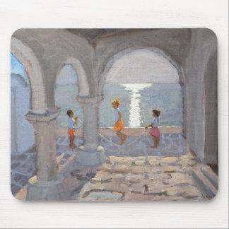 Tapis De Souris Enfants sautant les îles grecques 2008