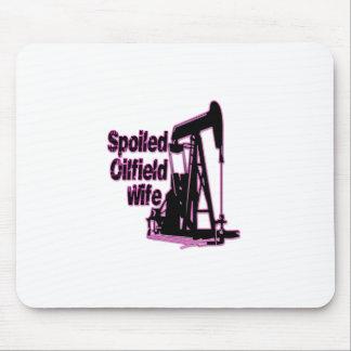 Tapis De Souris Épouse de gisement de pétrole corrompue par rose