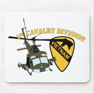 Tapis De Souris ęr Division de cavalerie - Vietnam - Huey