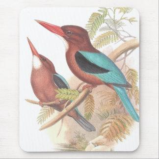 Tapis De Souris Étang d'animaux de faune d'oiseaux de