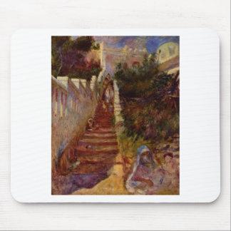 Tapis De Souris Étapes à Alger par Pierre-Auguste Renoir