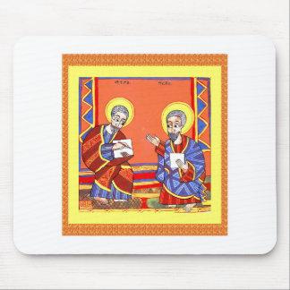 Tapis De Souris Éthiopien-Bible-Saint-Luc-Saint-John