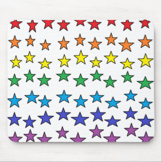 Tapis De Souris Étoiles colorées Mousepad
