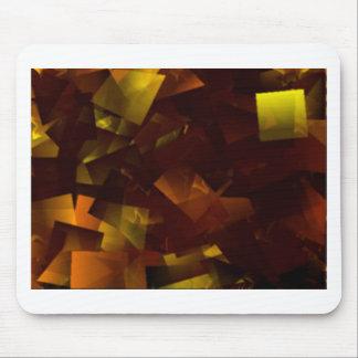 Tapis De Souris Étoiles d'ambre cubées