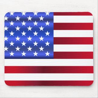 Tapis De Souris Étoiles et rayures assez patriotiques