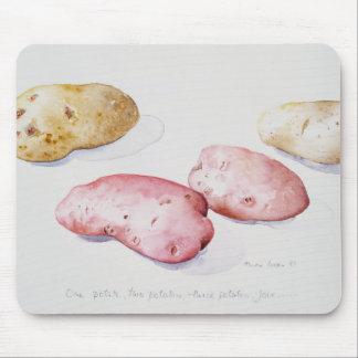 Tapis De Souris Étude 1993 de pomme de terre