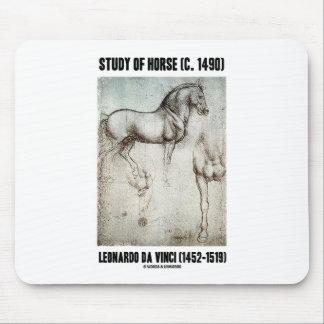 Tapis De Souris Étude du cheval (C. 1490) Leonardo da Vinci