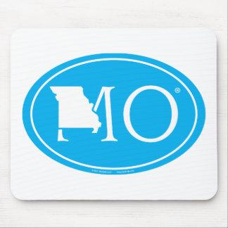 Tapis De Souris Euro de fierté d'état : MOIS Missouri