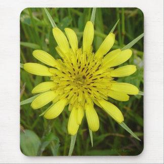 Tapis De Souris F0009 fleur sauvage jaune deux