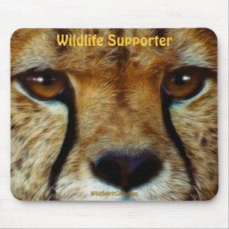 Tapis De Souris Faune animale africaine Mousepads de guépard