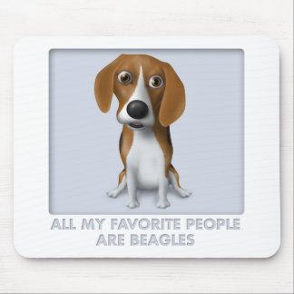 Tapis De Souris Favori BEA1 de beagle