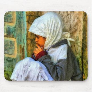 Tapis De Souris Fille marocaine