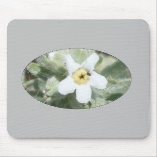 Tapis De Souris Fleur sauvage blanc 2 Mousepad